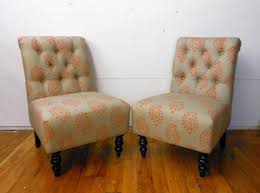 slipper chair slipcovers furniture slipper chair slipcover accent chairs with arms