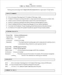 fresher resume exles resume sle for freshers jobsxs