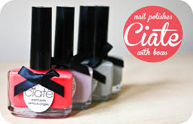 ciate the nail polishes with bows cityscape bliss