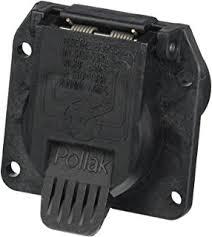 amazon com pollak 12 706 plastic blade style 7 way plug automotive