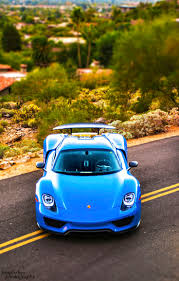 Porsche 918 Blue - 504 best porsche 918 spyder images on pinterest porsche 918 car