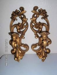 home interior sconces vtg large 35 dart homco home interior syroco gold 5 arm sconce