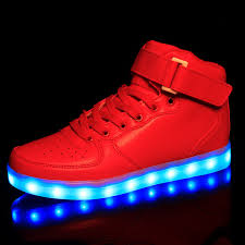 boys size 3 light up shoes led light shoes women 2017 women shoes casual fashion high top
