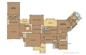 single story house plans with guest quarters