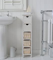 White Freestanding Bathroom Storage Slim Narrow 20cm Bathroom Storage Moving Ideas Pinterest