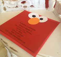 template free printable elmo birthday invitations online with