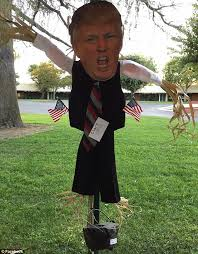 trump halloween decorations cause controversy at schools daily