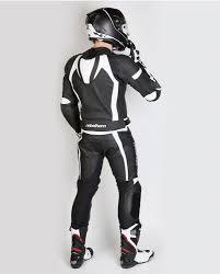 white motorcycle jacket piston ii jacket black white rebelhorn eu