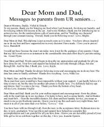 sample thank you letter mom examples word pdf for thankful father