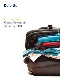 2 5 2011 global powers of retailing