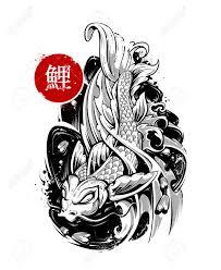 koi carp tattoo images 2 517 koi stock vector illustration and royalty free koi clipart