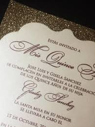 quinceanera invitations quinceanera invitation glitter quinceanera invitations set of