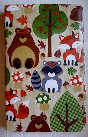 fall woodland animals 60 in vinyl tablecloth autumn