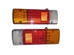 universal led tail lights universal 2x led rear tail lights ls suitable for landcruiser
