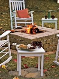 Make Your Own Outdoor Rug by How To Plan For Building An Outdoor Fireplace Hgtv