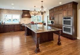 mission style cabinet kitchen transitional with taj mahl stainless