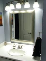 led light fixtures for bathroom bathroom light bulbs northlight co