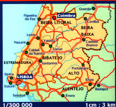Map Of Portugal And Spain Portuguese Walking Maps And Walking Guides Portugal To Buy Online