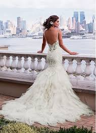 Long Sleeve Lace Wedding Dress Open Back Top 25 Best Backless Wedding Dresses Ideas On Pinterest