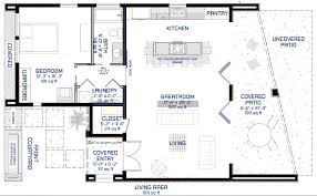 Mission House Plans Studio900 Small Modern House Plan With Courtyard 61custom