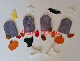 Halloween Cake Decorations Tombstone Fondant Cake Decorations Halloween Cake Toppers