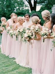 bridesmaid dresses for summer wedding 2017 summer wedding color trends blush stylish wedd