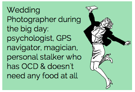 Wedding Photographer Meme - my grandmother told me i should be a wedding photographer ʙєʗɑuse