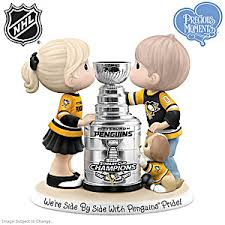 precious moments side side penguins pride figurine