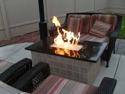 Glass Fire Pits by How To Build A Natural Gas Or Propane Outdoor Fire Pit Using