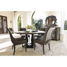 Oak Dining Furniture City Furniture Belgian Oak Light Tone Round Table U0026 4 Sloped Chairs