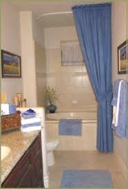 corner shower curtain rod track style universal size chrome by