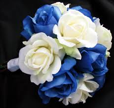 White Rose Bouquet Natural Real Touch Bouquets Debbiecoflowers Com Silk Wedding