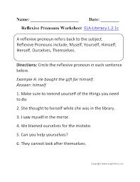 2nd grade pronoun worksheets worksheets