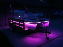 pontoon boat led light kits supralite ledz 26ft pontoon boat kit choose color in options
