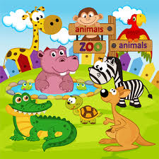 Kids Room Wallpapers by Choose Zoo Animals Wallpaper To Create Fantastic Wall Decor In