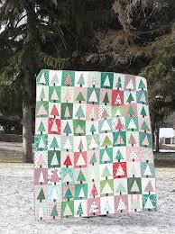 improv christmas tree quilt block craftsy