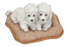 cuddly collectibles adorable poodle puppy figurines and
