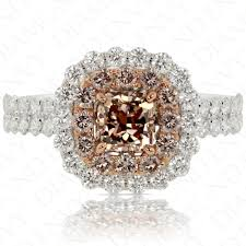 brown diamond engagement ring pink diamond engagement rings fancy pink brown diamond 0 79ct