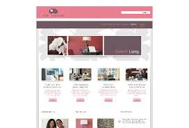 home interior website interior designer web template pack from serif