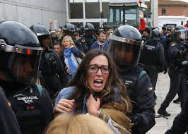 why the independence vote in catalonia turned violent