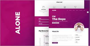 Resume Html Template 102 Responsive Html Templates U0026 Themes Free Templates