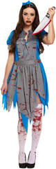 horror alice in wonderland costume all ladies halloween costumes