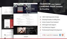 highly recommended html5 landing page template for interior and