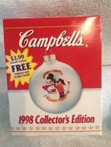 campbell u0027s soup christmas ornament 15 listings
