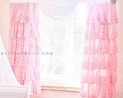 Ruffled Pink Curtains Pink Ruffle Curtains 100 Images Pink Ruffle Curtain 100 Images