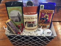 fathers day basket s day organic cofee gift basket golf delight