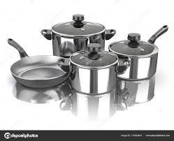 ustensiles de cuisine en inox marmites et casseroles ensemble d ustensiles de cuisine en acier