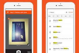 Business Card Capture App Business Card Scanning App 1439