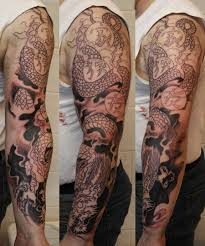 dragon sleeve tattoos dragon sleeve wip by simplytattoo tattoo