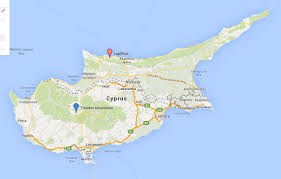 Map Of Cyprus Penn Museum Blog Weapons And Fiber Id Lapithos Survey Update